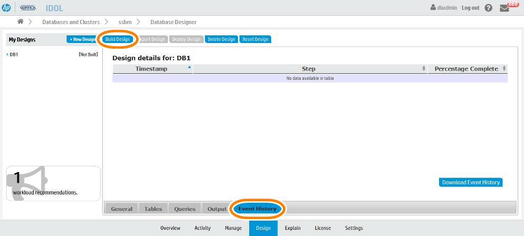Vertica Management Console - Database Designer_2015-11-16_19-11-19
